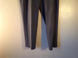 Size 12  Gray  J McLaughlin Dress Pants Made in USA image 2
