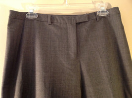 Size 12  Gray  J McLaughlin Dress Pants Made in USA image 3