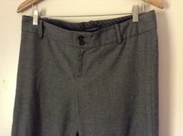 Banana Republic Gray Dress Pants Size 10 Stretch Martin Fit image 2