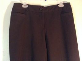 Size 12P Black Dress Pants Front and Back Pockets Business Studio 1940 image 2
