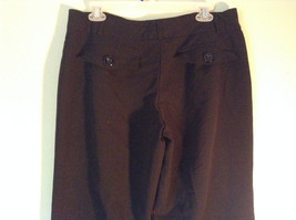 Size 12P Black Dress Pants Front and Back Pockets Business Studio 1940 image 4