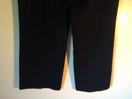 Size 12P Black Dress Pants Front and Back Pockets Business Studio 1940 image 5