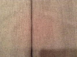 Size 12 Talbots Petite Stretch Tan Light Brown Lined Dress Pants Wool Blend image 3