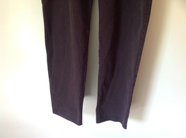 Size 14 Dark Brown Pants by J Crew Slightly Stretchy Button and Zipper Closure image 3