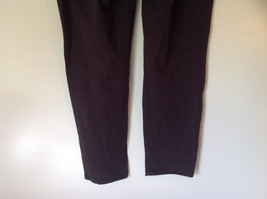 Size 14 Dark Brown Pants by J Crew Slightly Stretchy Button and Zipper Closure image 5