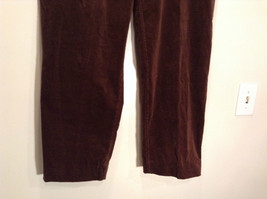 Size 16 Northern Isles Brown Casual Pants 98 Percent Cotton 2 Percent Spandex image 3