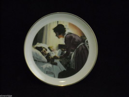 "Vintage Norman Rockwell Collector's Plate ""Mother's Love"""