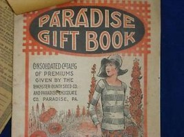 Vintage Paradise Chocolate Gift Book Lancaster Cty PA
