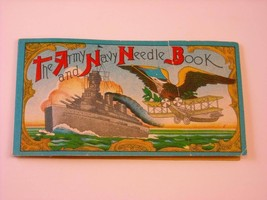 Vintage Package Needles marked Army and Navy Needle Book