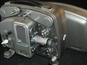 Vintage Paillard Bolex 8MM film projector w hard case
