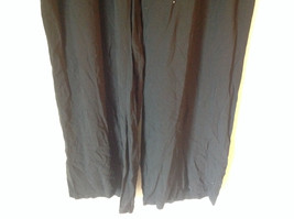 Size 18W Daisy Fuentes Black Pants Tied Waist Light Material 100 Percent Rayon image 3