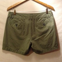 Banana Republic Womans, Olive Green Shorts, Size 8 image 2