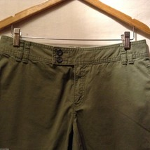 Banana Republic Womans, Olive Green Shorts, Size 8 image 3