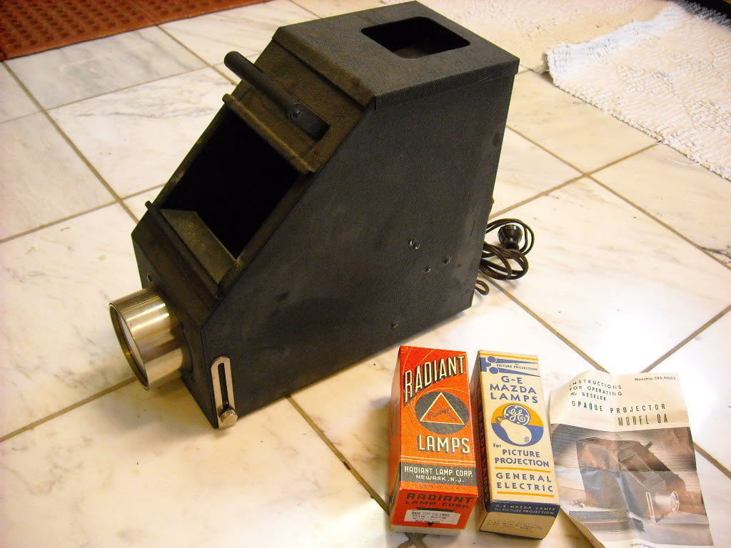Vintage Projector Opaque Charles Beseler Model O.A.