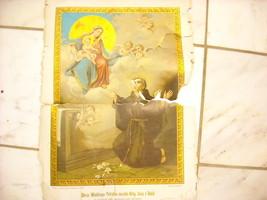 Vintage Religious  Christian Poster Polish