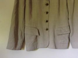 Size 4 Suit Jacket Blazer Jones New York Fancy Buttons Shoulder Pads Long Sleeve image 4
