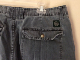 Size 38 Casual Blue Shorts by St. Johns Bay 100 Percent Cotton Front Back Pocket image 6