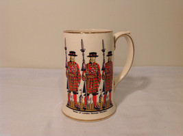 Vintage Sadler Tower of London Yeomen Warders Beer Mug Staffordshire Eng... - $24.74