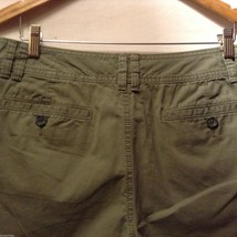 Banana Republic Womans, Olive Green Shorts, Size 8 image 5