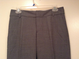 Banana Republic Size 4 Fully Lined Gray Dress Pants Very Nice Pleated Front image 2
