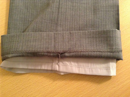 Banana Republic Size 4 Fully Lined Gray Dress Pants Very Nice Pleated Front image 7