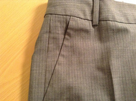 Banana Republic Size 4 Fully Lined Gray Dress Pants Very Nice Pleated Front image 8