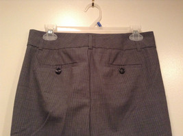 Banana Republic Size 4 Fully Lined Gray Dress Pants Very Nice Pleated Front image 4