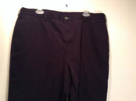Size 40 by 30 Tommy Hilfiger Plus Size 100% Cotton Dark Blue Black Casual Pants image 2