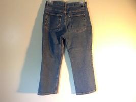 Size 8 Petite Denim Jeans Blue Caslon Front Back Pockets Zipper Button Closure image 4