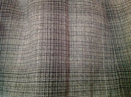 Size 8 Black and Gray Plaid Lined Skirt by Ninety Button Zipper Clasp Closure image 2