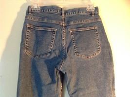 Size 8 Petite Denim Jeans Blue Caslon Front Back Pockets Zipper Button Closure image 5