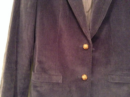 Size 9 Dark Violet Fully Lined Blazer Suede Leather on Elbows by Slices image 8