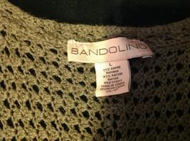 Bandolino brown short sleeve vest size large image 4