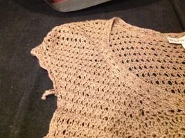 Bandolino brown short sleeve vest size large image 5