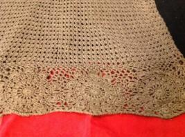 Bandolino brown short sleeve vest size large image 8