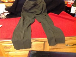 Banana Republic Small pair size 2 Olive pants wool rayon made in Italy image 8