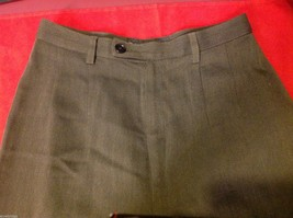 Banana Republic Small pair size 2 Olive pants wool rayon made in Italy image 3