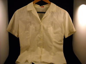 Vintage Women's Charlotte's Off-white Blouse
