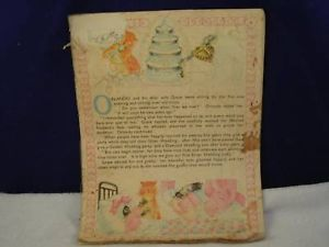 Vintage kids storybook Orlando and His Silver wedding