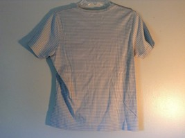 Size Small White Striped Brooks Brothers Short Sleeve Shirt image 4