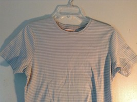Size Small White Striped Brooks Brothers Short Sleeve Shirt image 2