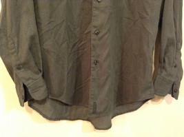 Size Medium Long Sleeve Button Up Front Nautica Dark Gray Casual Shirt image 4