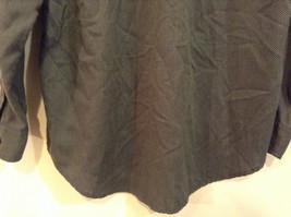 Size Medium Long Sleeve Button Up Front Nautica Dark Gray Casual Shirt image 6