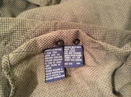 Size Medium Long Sleeve Button Up Front Nautica Dark Gray Casual Shirt image 9