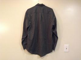 Size Medium Long Sleeve Button Up Front Nautica Dark Gray Casual Shirt image 2