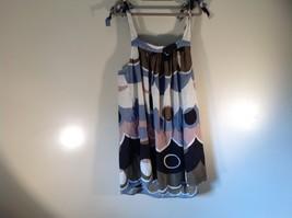 Size M 100 Percent Cotton Paradise NY Multicolored Dress Adjustable Straps Light image 5