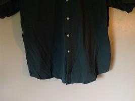 Size XL John Ashford Green Collared Short Sleeve Collared Button Down Shirt image 3