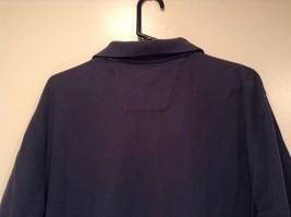 Size XL Dark Blue Short Sleeve 100  Percent Cotton Nautica Casual Polo Shirt image 5
