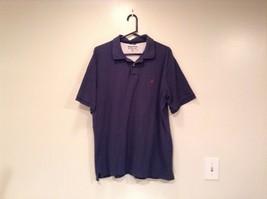 Size XL Dark Blue Short Sleeve 100  Percent Cotton Nautica Casual Polo Shirt image 2