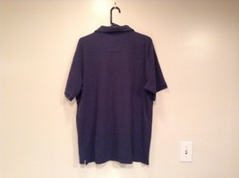 Size XL Dark Blue Short Sleeve 100  Percent Cotton Nautica Casual Polo Shirt image 4